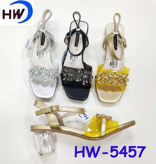 One-button Buckled High Heel Sandals
