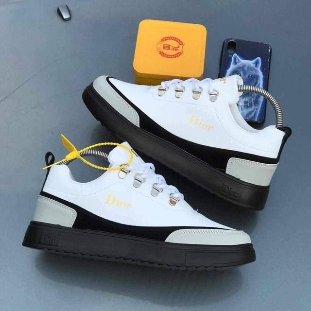 Christian Dior white and black women sneakers
