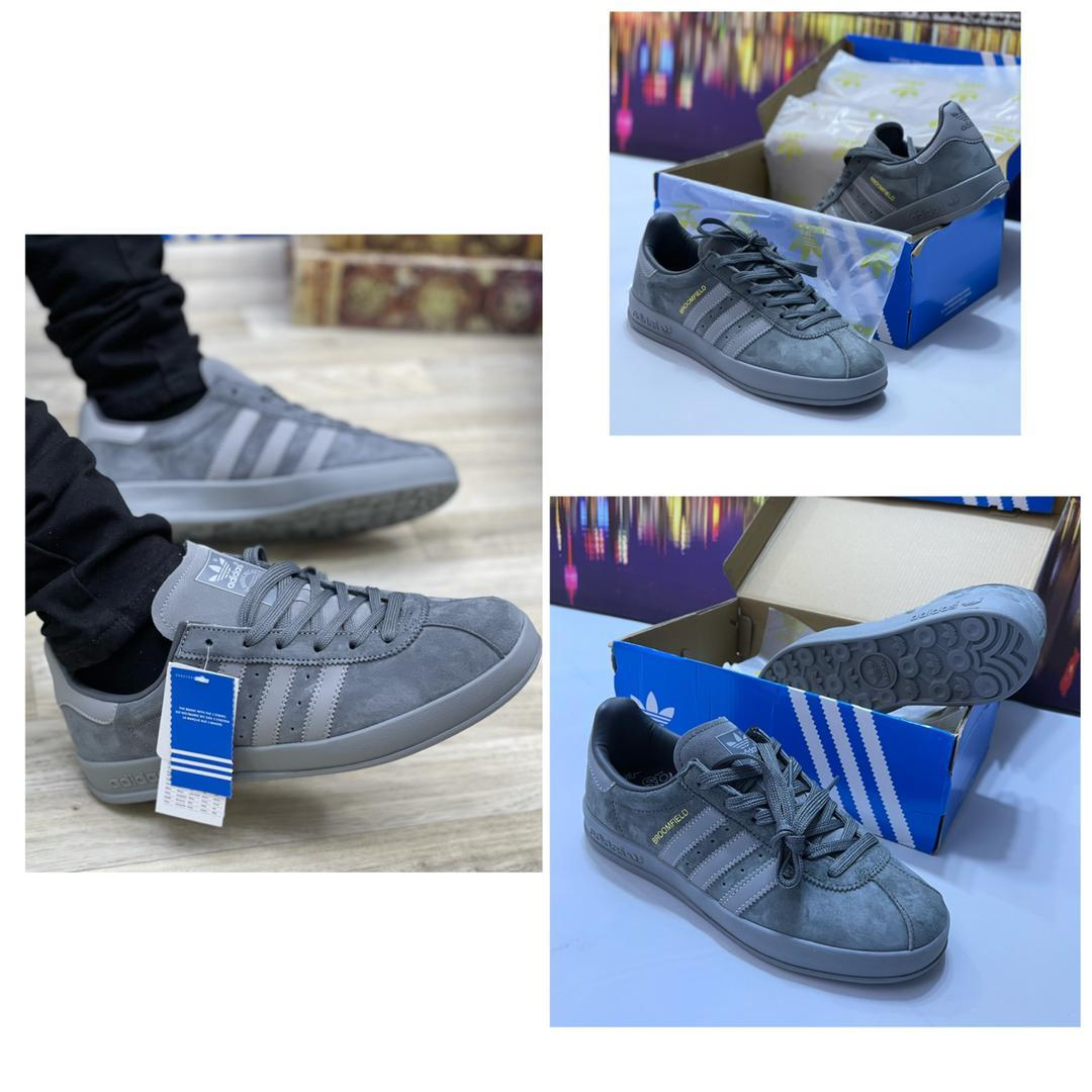 Deep Grey Broomfield PALASH Adidas men sneakers