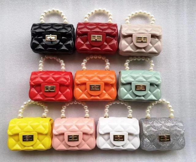 2021  Beaded Mini Jelly  Handbag