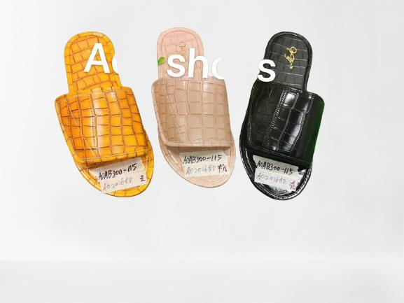 Ladies Casual And Comfortable Flat Slippers