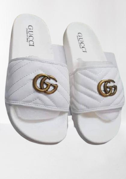 Quality Ladies White Slippers