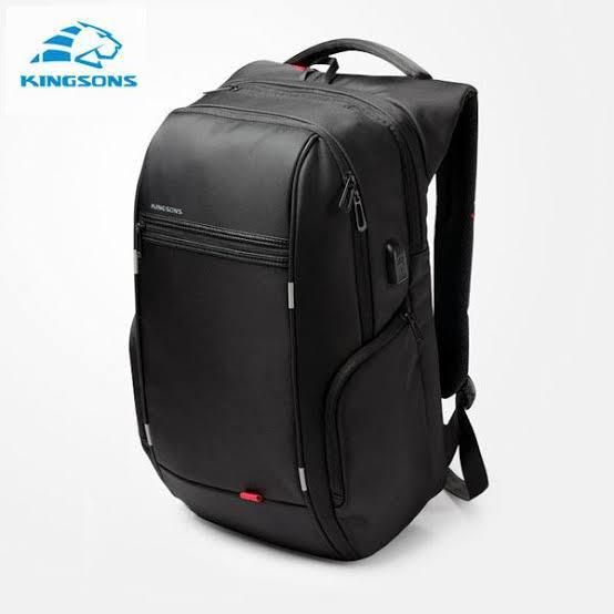 KINGSONS Laptop Backpack, Large Capacity